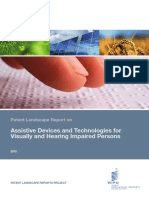 Assistive Devices and Technology for Visually and Hearing Impairement