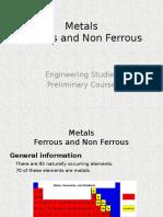 metals ferrous- non ferrous