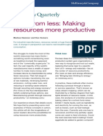 More From Less Making Resources More Productive