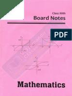 VMC Maths Notes