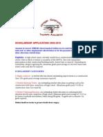 MCTA Scholarship Application