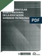 Diseno Curricular Basico Nacional