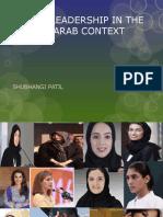Women Leadership in the Emirati-Arab Context