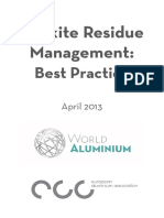 Bauxite Residue Management Best Practice May 2013