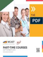 Web Mcast Part Time Prospectus
