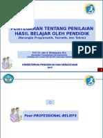 2015-PENILAIAN HASIL BELAJAR OLEH PENDIDIK-PROF UDIN (1).ppt