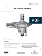 Bulletin 99 Valve Regulator Fisher