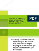 Definición de E-learning