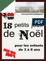 18 Petits Jeux de Noël 3 à 8 Ans