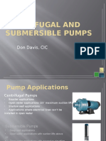 Irrigation Training Centrifugal and Submersible Pumps