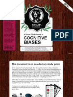 Cognitive Biases - A Visual Study Guide