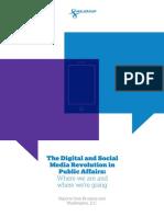 The Digital and Social Media Revolution in Public Affairs