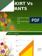 Skirt vs Pants