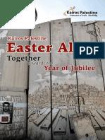 Kairos Palestine Easter Alert 2016 Email