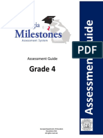 georgia milestones grade 4 eog assessment guide