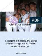 Nursing Research on Recapping of Needles