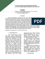Pengolahan Data Lapangan Elektromagnetik