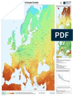2016 _ European Solar Irradiation KWh m2
