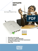Описание GSM Шлюза 2n Ateus Easygate User Guide Rus