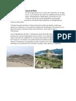 Cultura Prehispánica en El Perú-COLEGIO