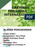PENGAKHIRAN PERJANJIAN INTERNASIONAL
