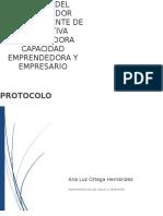 Trabajo Protocolo de Emprendimiento