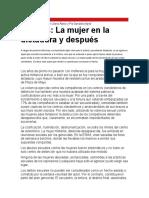 Liliana Alaniz y Pía Garralda - 40 Años - La Mujer en La Dictadura y Después
