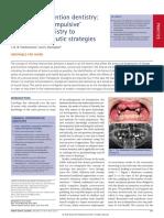 Minimal Intervention Dentistry
