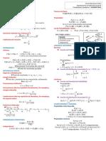 Hoja Formulas Probabilidad y estadística