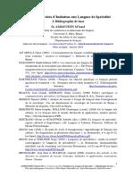 Ammouden.M.1 Bibliographie.lsp