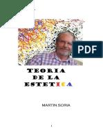 TEORÍA DE LA ESTÉTICA MARTÍN SORIA