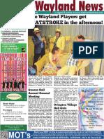 The Wayland News April 2016