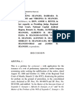Wills case disinheritance