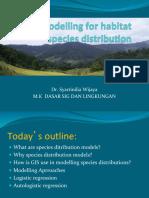 Spatial Modelling for habitat species distribution.pdf