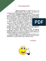 Paralela Intre Textul- Padurea Petrisorului- Si Poezia-Ce Te Legeni...