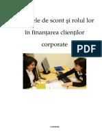 Creditele de Scont si Rolul Lor in Finantarea Clientilor Corporate.docx