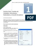 Practica 1 Creo Elements / Pro