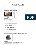 unit 6  task 1  shopping list