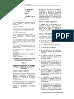 LEY 28303 - Ley Marco de Ciencia, Tecnología e Innovación Tecnológica