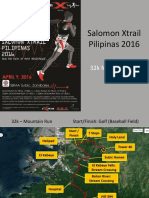 Salomon Xtrail 2016 Race Route