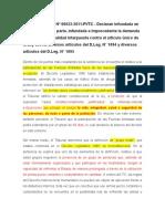Resumen Sentencia TC 22-2011