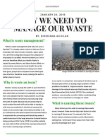 waste management article
