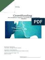 Crowdfunding thesis