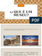 O que é um museu