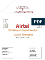 Marketing, Planning and strategy of Airtel