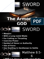 SWORD - The Armor of God by Pastor Arnold 03202016