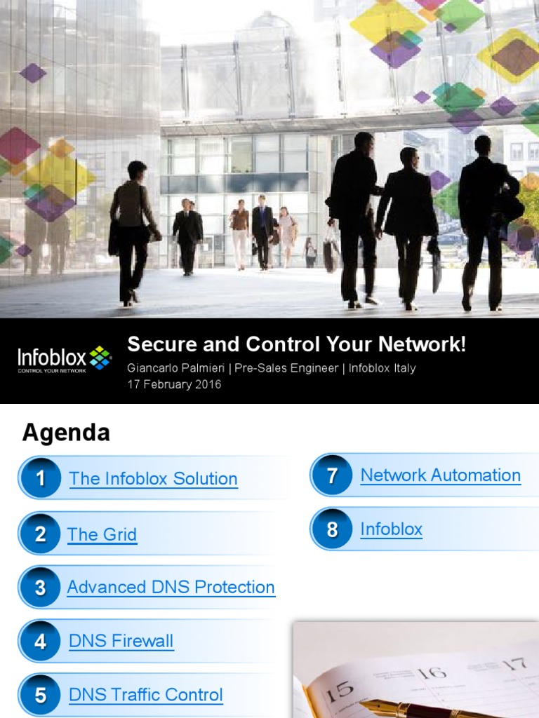Infoblox - 160217 General Pitch GPb | Domain Name System | Denial Of
