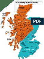 Scottish surname map