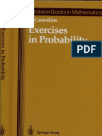 [T. Cacoullos] Exercises in Probability