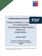 Formulario ITP Perfil